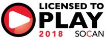 Licensed to Play 2018 SOCAN